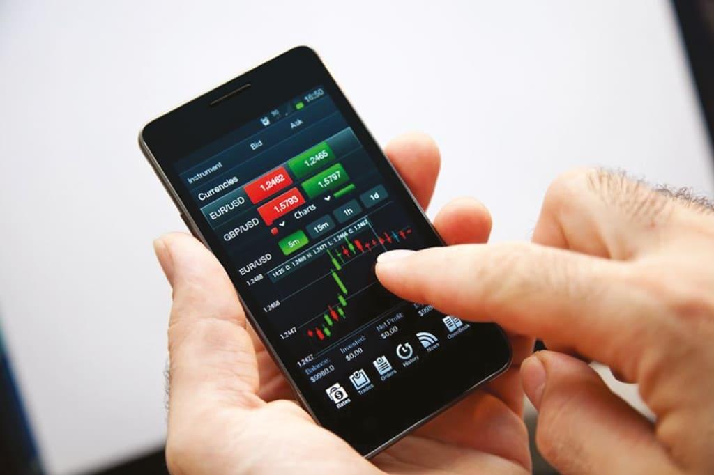 Как работают мобильные приложения для трейдинга