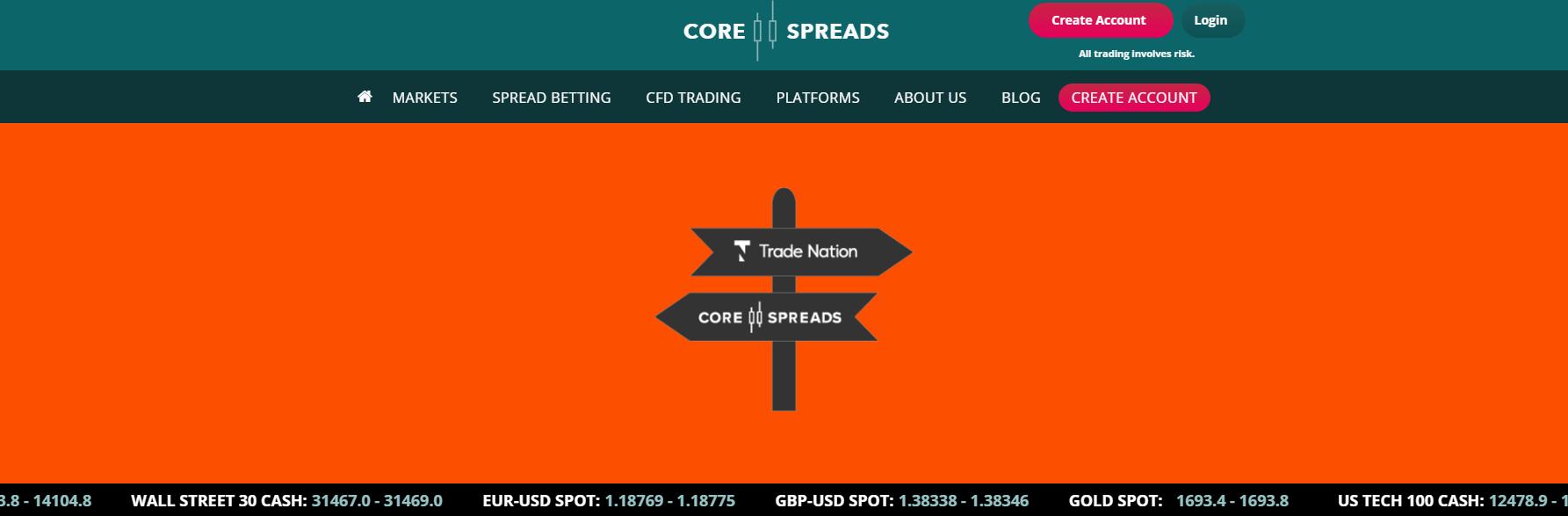 Брокер Core Spreads – что предлагает европейский CFD-посредник трейдерам?